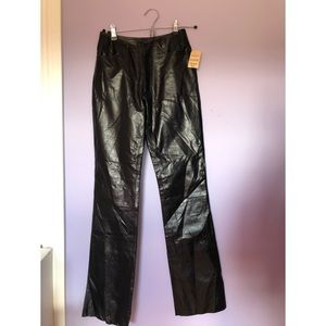 Wilson's leather black leather pants